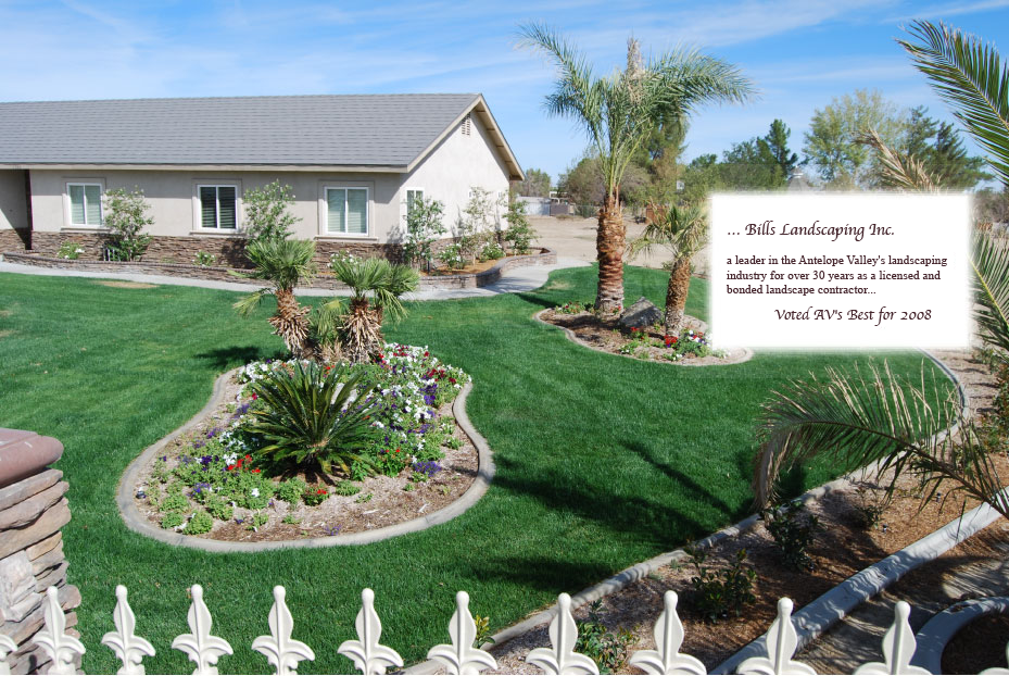 About Us - Bill's Landscaping A.V.'s Best Landscaper